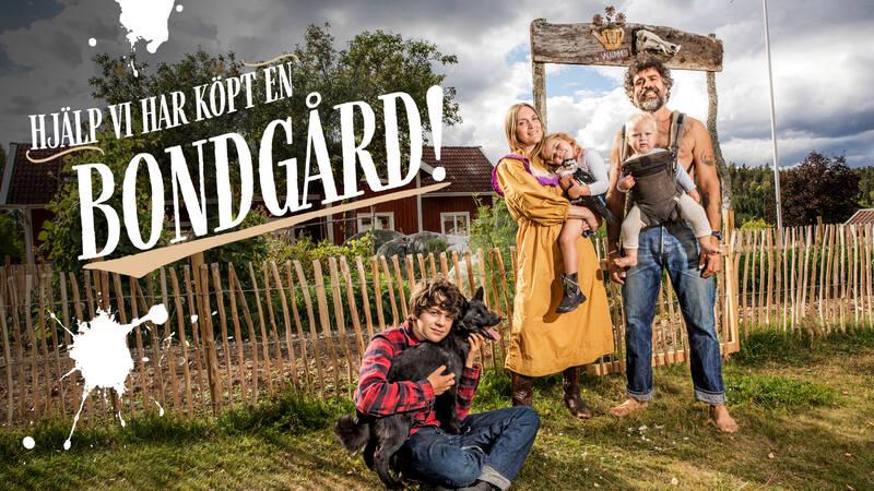 Hjälp, vi har köpt en bondgård! Kalle och Brita är tillbaka! Sommaren är på väg till gården och nu ska alla idéer förverkligas.