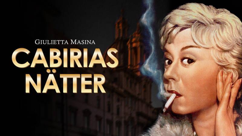 Giulietta Masina i rollen som den prostituerade Cabiria.