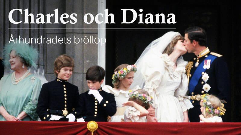 Den 29 juli 1981 stod 20-åriga Diana Spencer vid altaret i St Pauls katedral för att gifta sig med prins Charles.