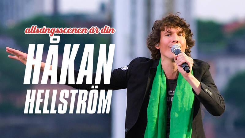 Efter Allsång på Skansen en julikväll 2013 fick vi en hel timme med Håkan Hellström och hans gäster på Allsångsscenen.