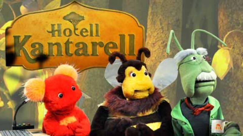 Hotell Kantarell i SVT Barnkanalen