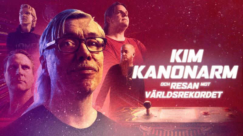 Han är en legend i arkadspelsvärlden. Med hjälp av sina vänner från Bip Bip Bar i Köpenhamn ska Kim Kanonarm försöka bli den första i världen som spelat Gyruss 100 timmar i sträck - på ett enda mynt!