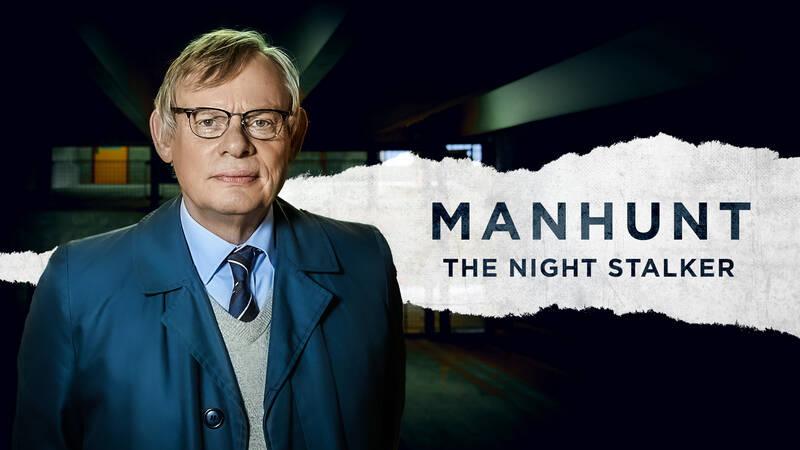 Manhunt: The night stalker med kommissarie Colin Sutton (Martin Clunes).
