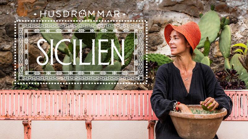 Marie Olsson Nylander i Husdrömmar Sicilien