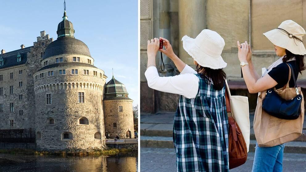 Örebro slott och turister