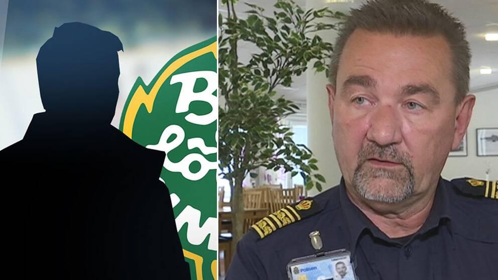 Stephen Jerand, polisområdeschef i Jämtland