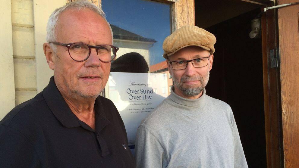 Sven Ekberg och Johan Theorin är två av personerna bakom dokumentären