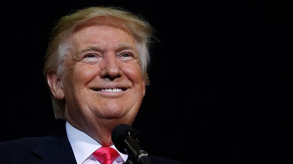 Donald Trump kandiderar till president för Republikanerna.