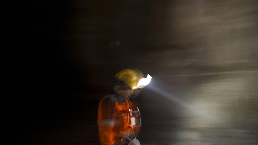 gruvarbetare