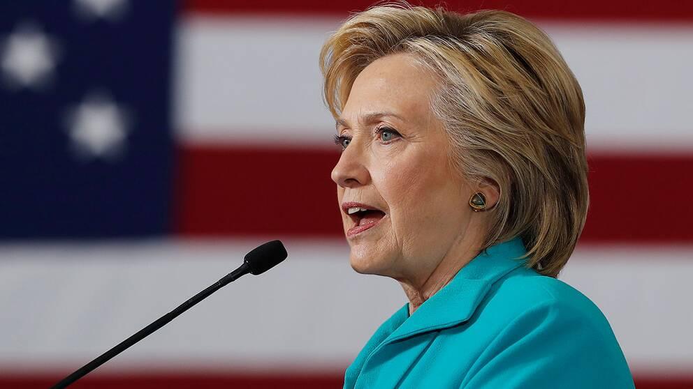 Presidentkandidaten Hillary Clinton.
