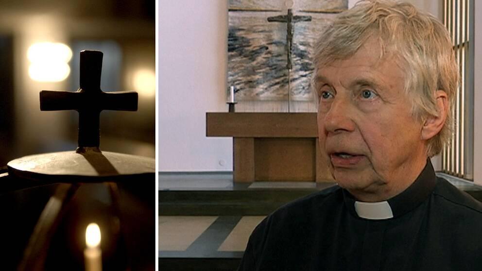 Ingvar Briland, präst i Jönköpings pastorat, bekräftar bilden att konvertiterna är utsatta.