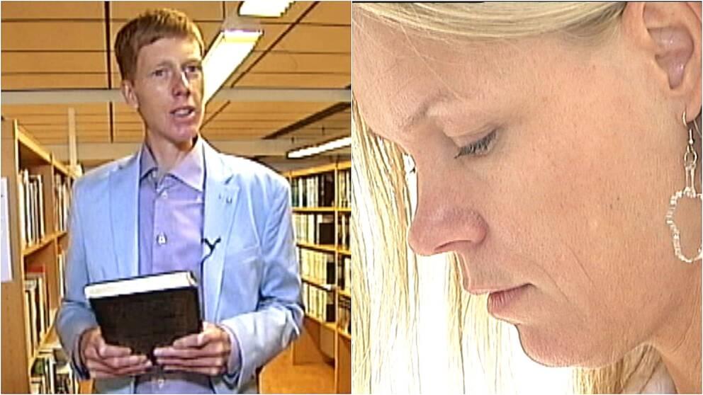 Två författare som gett ut böcker på egen hand
