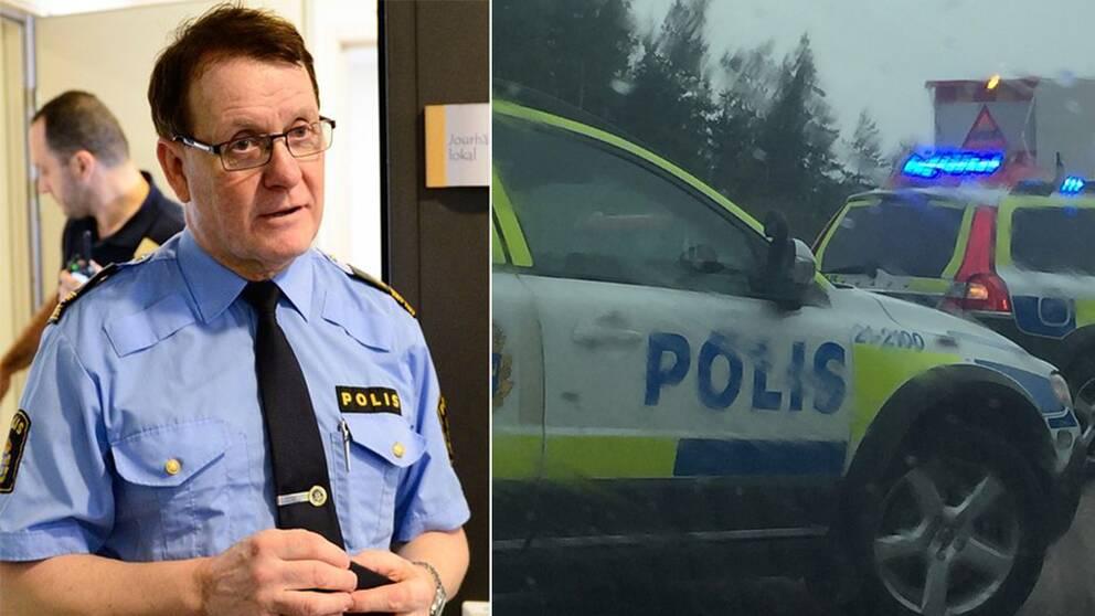 Polisveteranen Christer Nordström har arbetat inom polisen i 47 år. Han är bland annat Uppsalapolisens ansikte utåt då han är presstalesperson. Enligt honom har det aldrig varit så illa som det är nu. Det beror bland annat på resursbristen.