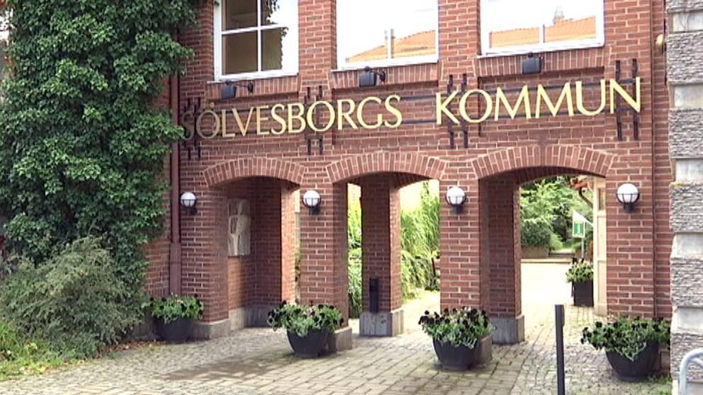 Sölvesborgs kommunhus.