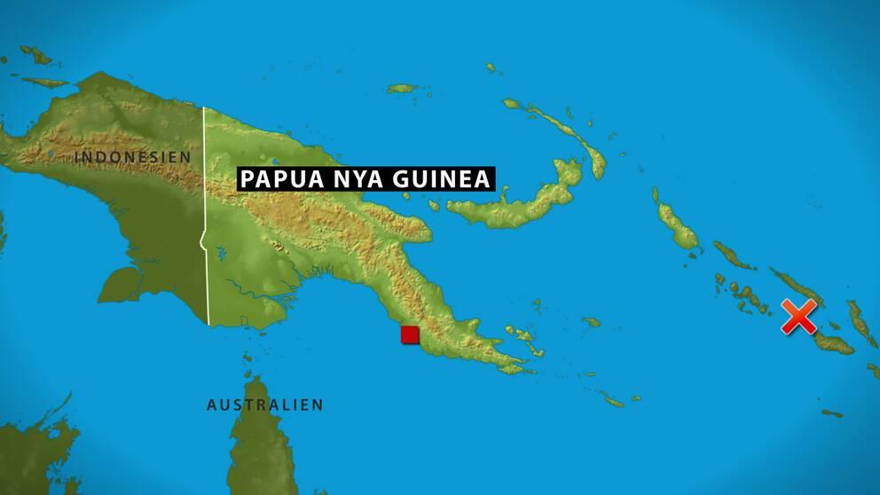 Kraftigt jordskalv i indonesien