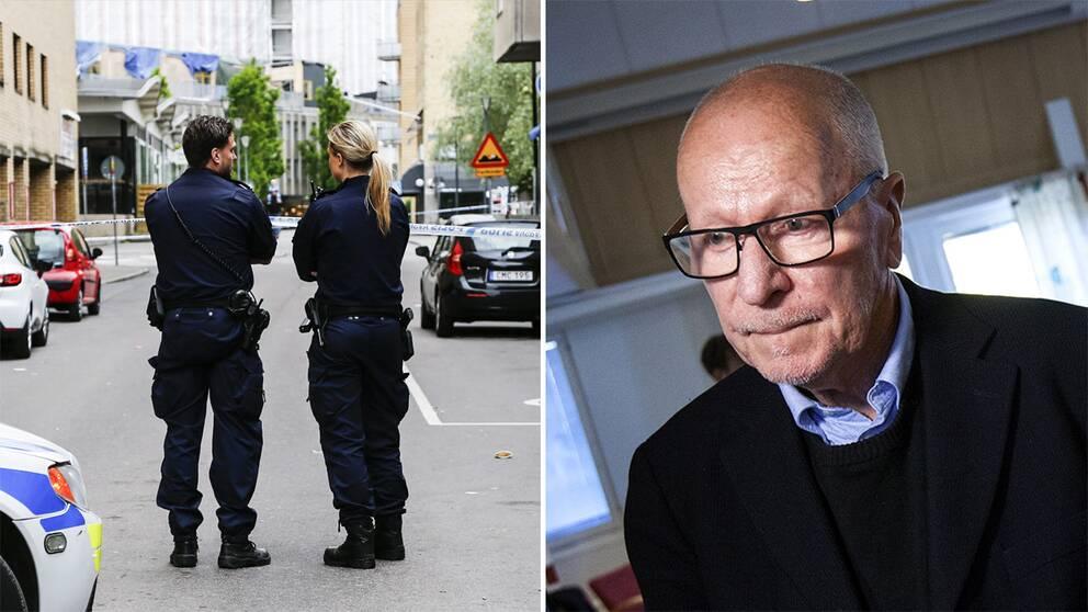 Poliser och Sven-Erik Alhem