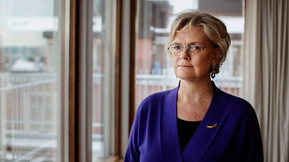 Svenskt Näringslivs VD Carola Lemne.