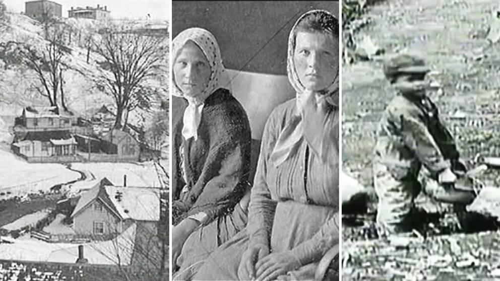 """Bilder från """"Swede Hollow"""""""