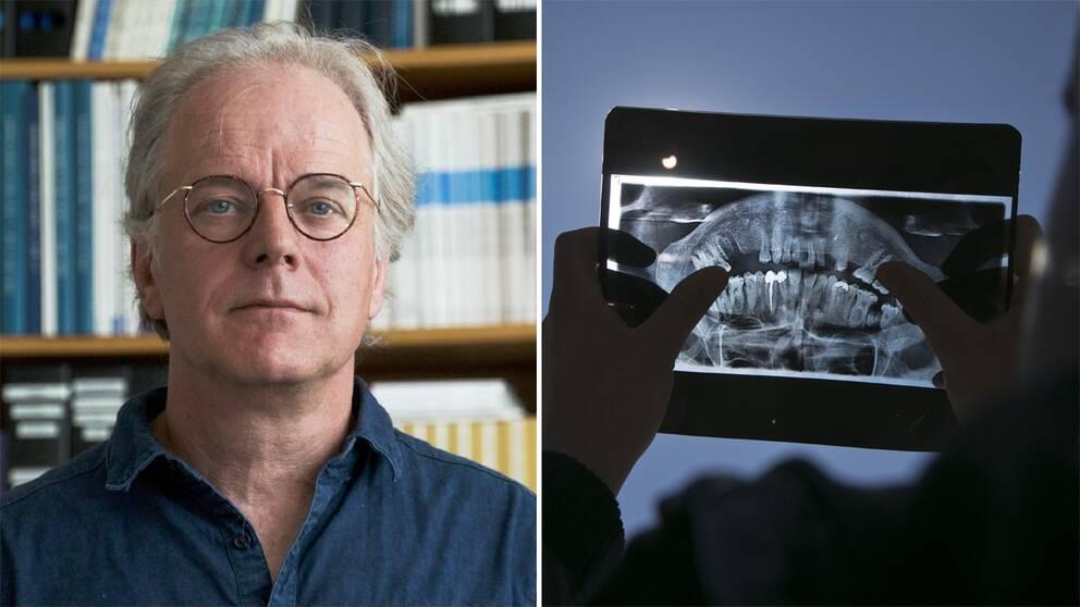 Barnläkaren och professorn AndersHjernhar varitdenmest tongivande kritikernmot tand- och handledsröntgen för att bedöma barns ålder.