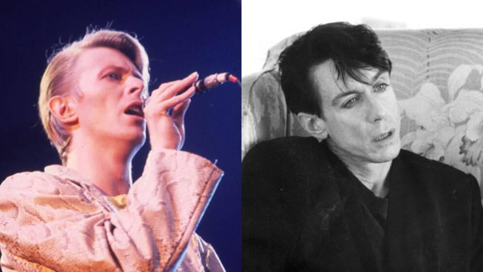 David Bowie och Iggy Pop