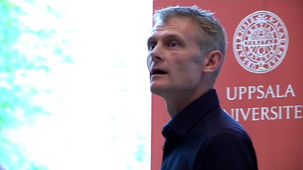 kevin Anderson, ny gästprofessor på Uppsala universitet.