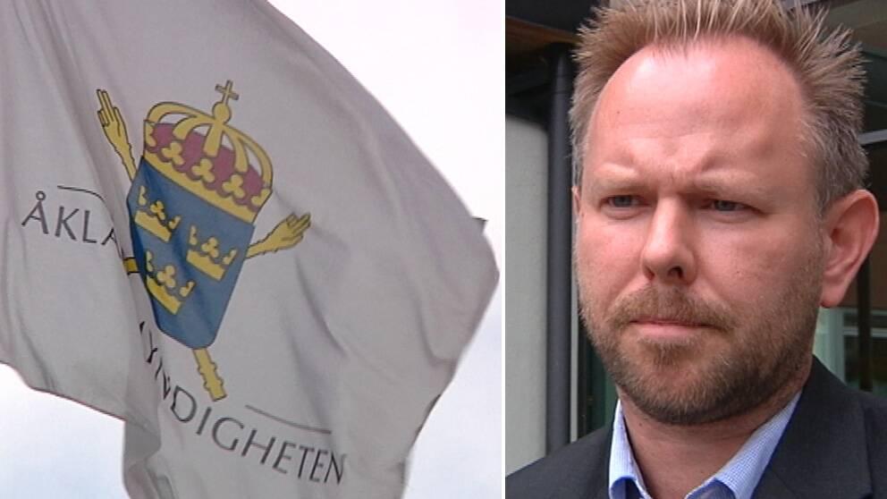 Även Åklagarmyndigheten påverkas av den pågående krisen inom polisen. Kammaråklagare Thomas Bälter Nordenman har på senare tid märkt en förändring i det material de får från polisen. – Det kommer in färre uppgifter till oss och det tar längre tid att få vissa saker gjorda säger Thomas Bälter Nordenman