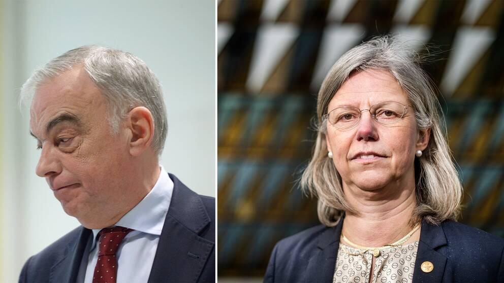 Lars Leijonborg och Karin Dahlman-Wright