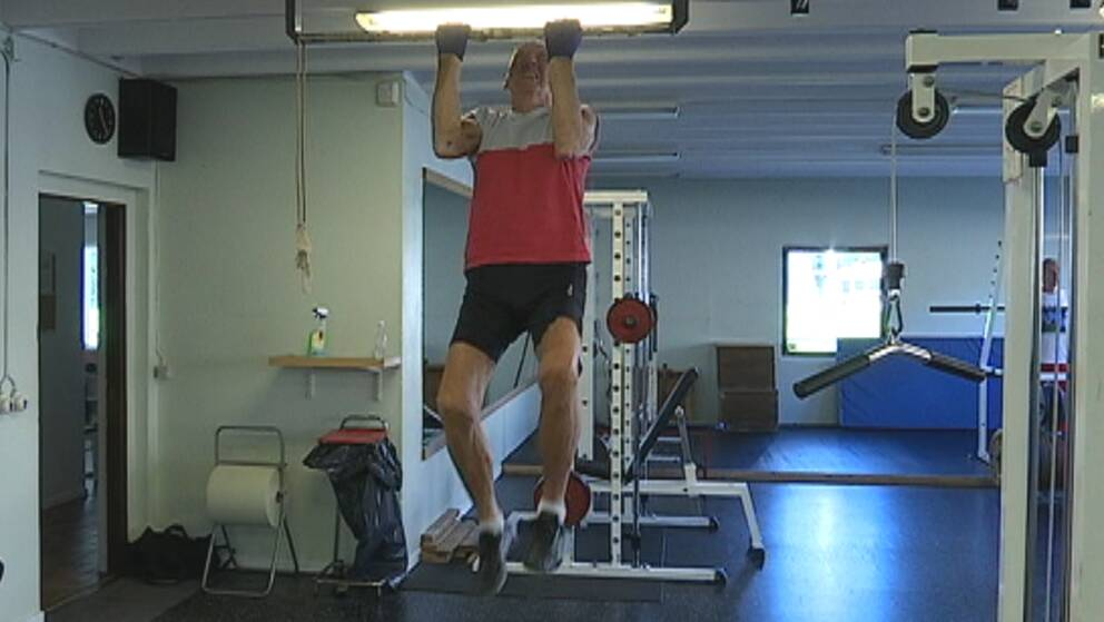 99-årige Gunnar Jacobson från Göteborg kanske är Sveriges äldsta personliga tränare. Han brukar nämligen träna med en 39 år yngre gymkollega Lennart Larsson.