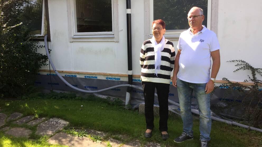 hallsberg hus översvämning