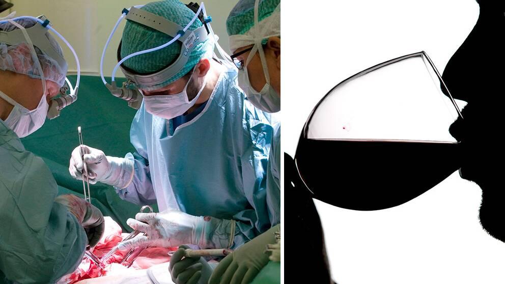 Region Skåne uppmanar nu patienter som ska opereras att hålla en vit månad.