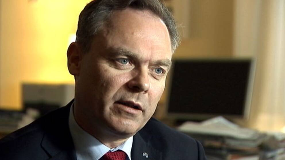 Utbildningsminister och Folkpartiets ledare Jan Björklund. Foto: Andreas Hult/SVT