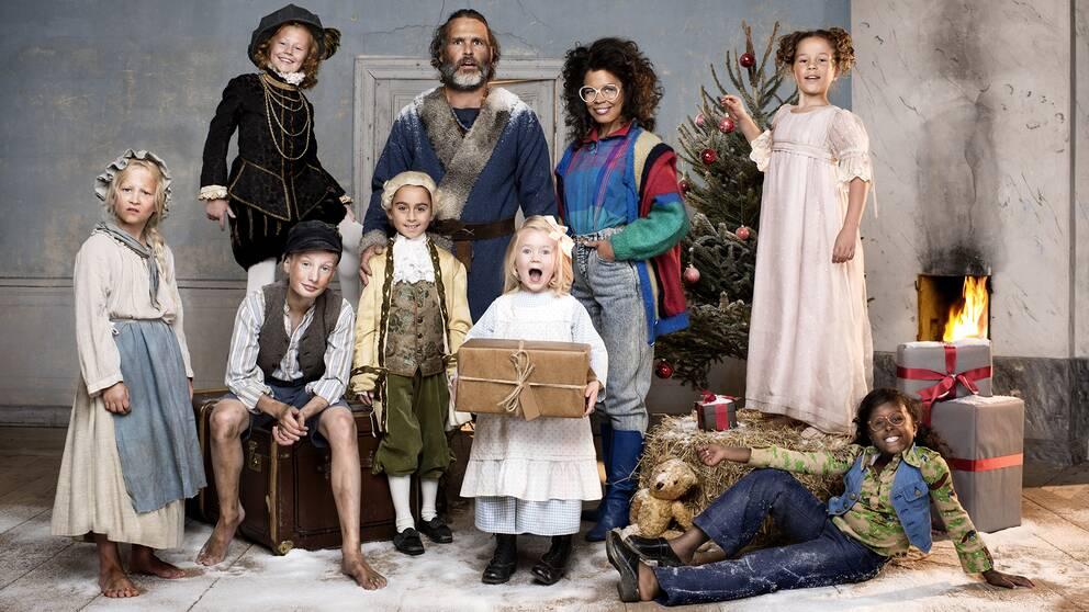 En formatstvist kring Tusen år till julafton rasar.