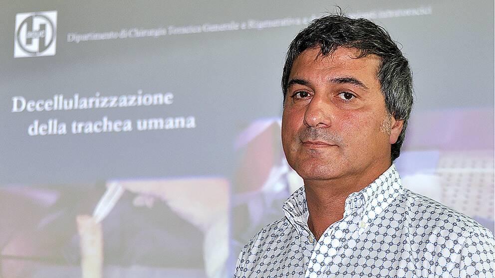 Kirurgen Paolo Macchiarini