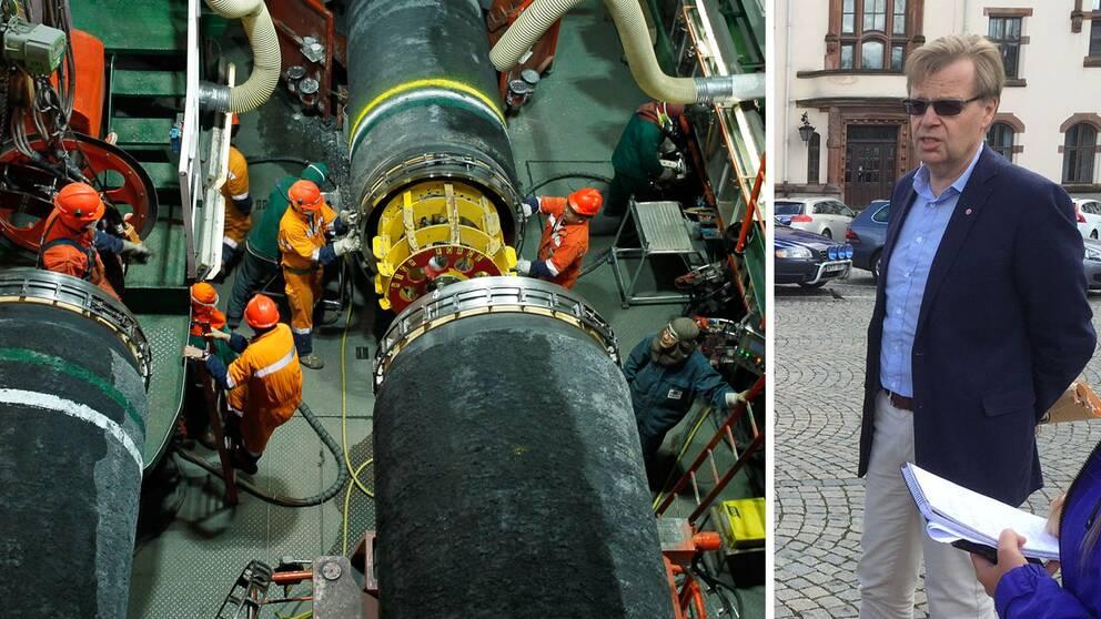 Ryska gasledningen oroar karlshamn