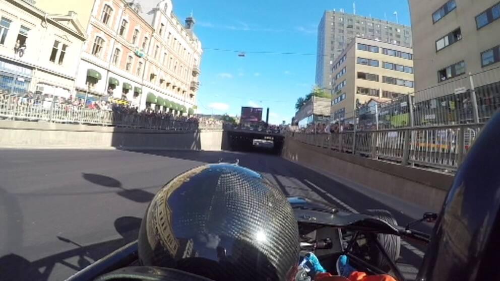 Bild från racerbil