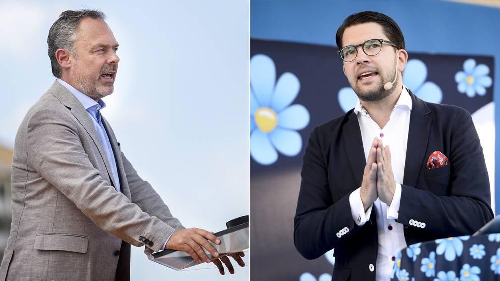 Liberalernas ledare Jan Björklund anser att Jimmie Åkesson (SD) bör bjudas in till de blocköverskridande samtalen.