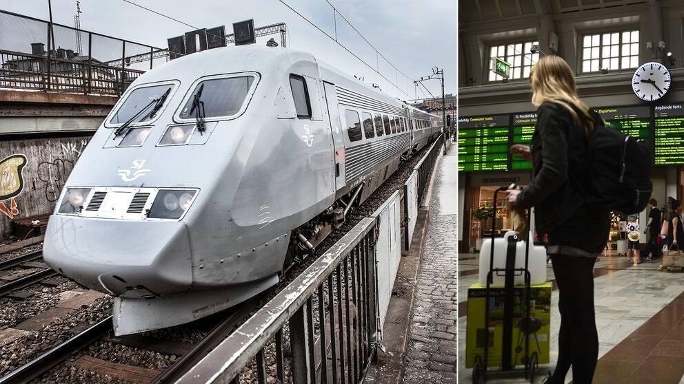 Snabbtågsresenärer mellan Stockholm och Göteborg kommer från och med december 2016 att få räkna att det i vissa fall tar 20 minuter längre tid än vanligt, på grund av det omfattande arbete som Trafikverket planerat för på västra stambanan.