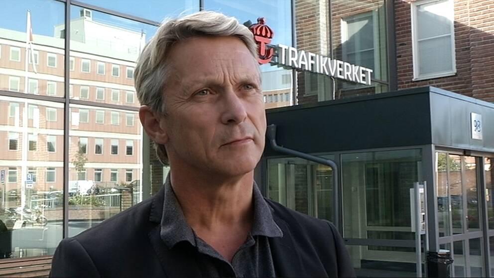 Bengt Olsson, presschef på Trafikverket.
