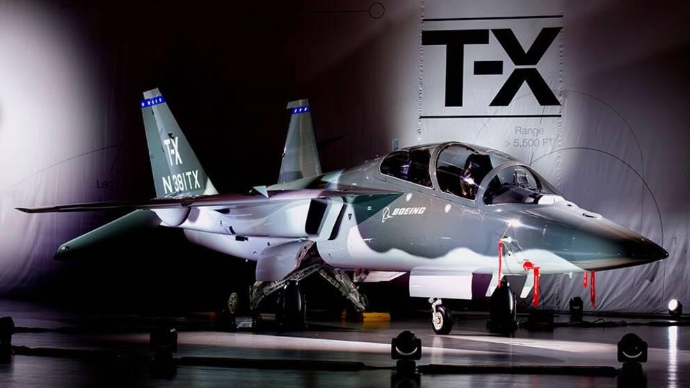 Nya flygplanen visades upp i USA.