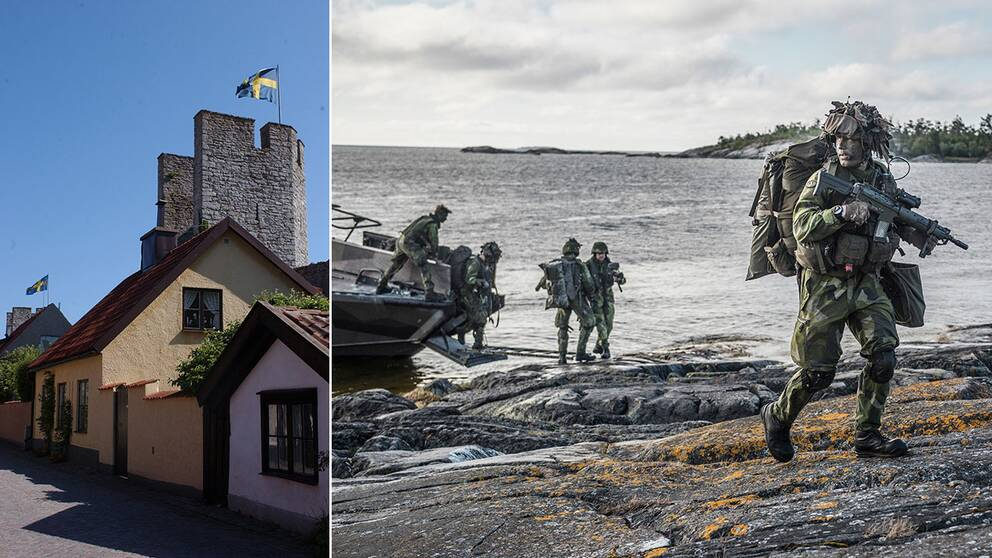 ÖB sätter fast förband på Gotland från i dag klockan 07.