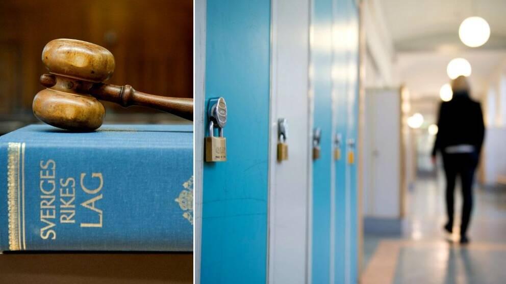 Flicka domd for vald pa skola