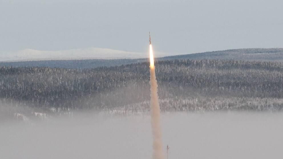 MASER 12 launch from radar hill1