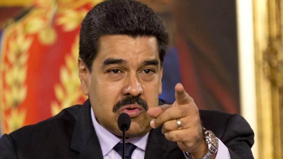 Venezuelas president Nicolas Maduro.