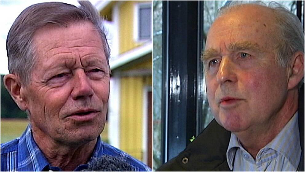 Karl-Johan Adolfsson (C) och Anders Broman (HS)