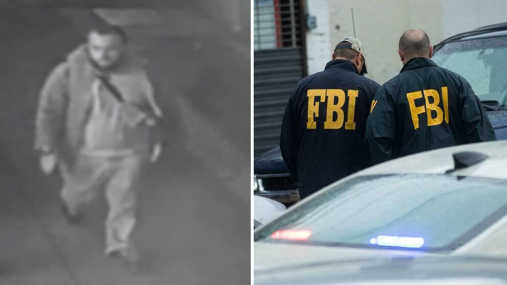 28-årige Ahmad Khan Rahami, som misstänks för bombdåd i USA har gripits.