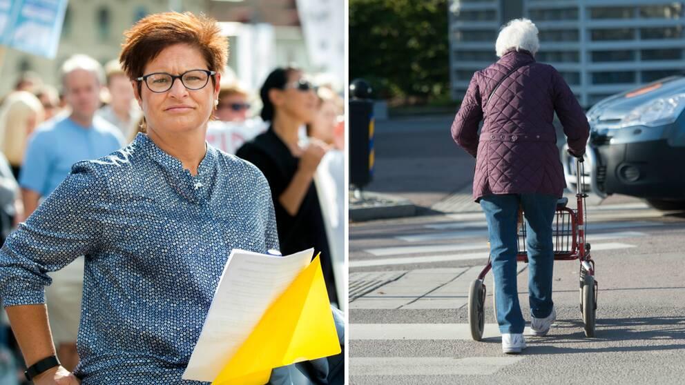Vårdförbundets ordförande Sineva Ribeiro är kritisk mot förslag om höjd pensionsålder.