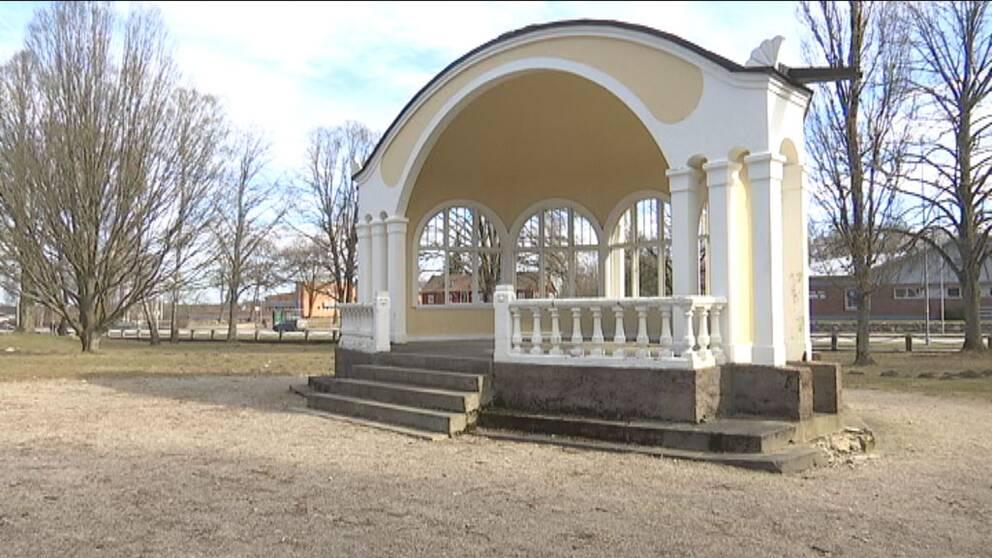 Musikpaviljong i Hässleholm