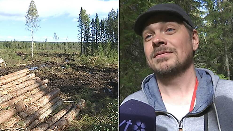 Kalavverkning, Viltekolog, Jon Andersson