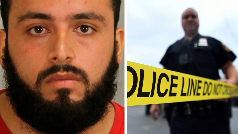 Ahmad Khan Rahami misstänks för bombdådet på Manhattan.