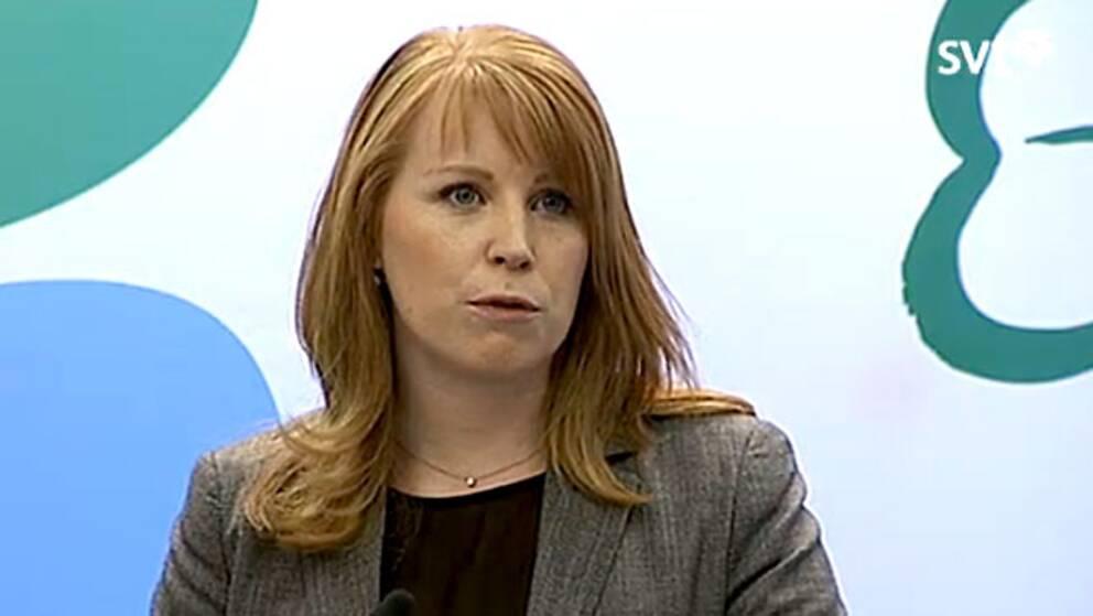 C-ledaren Annie Lööf